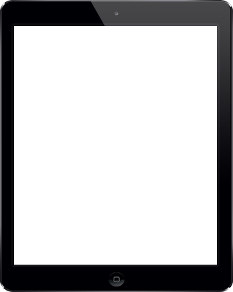 device presentation tablet frame